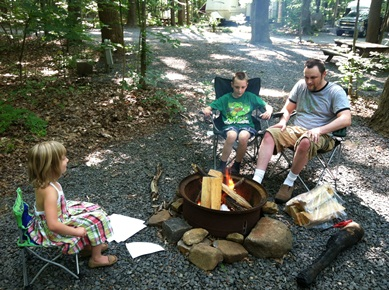 campfire Fathers Day
