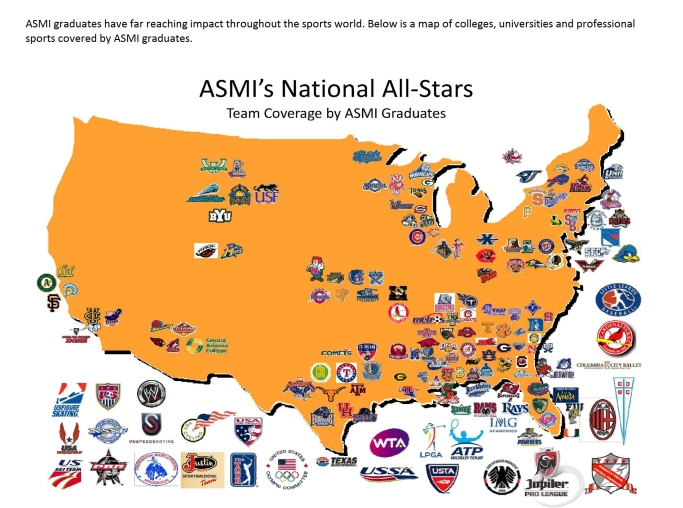 NEWS - Map of us pro sports teams