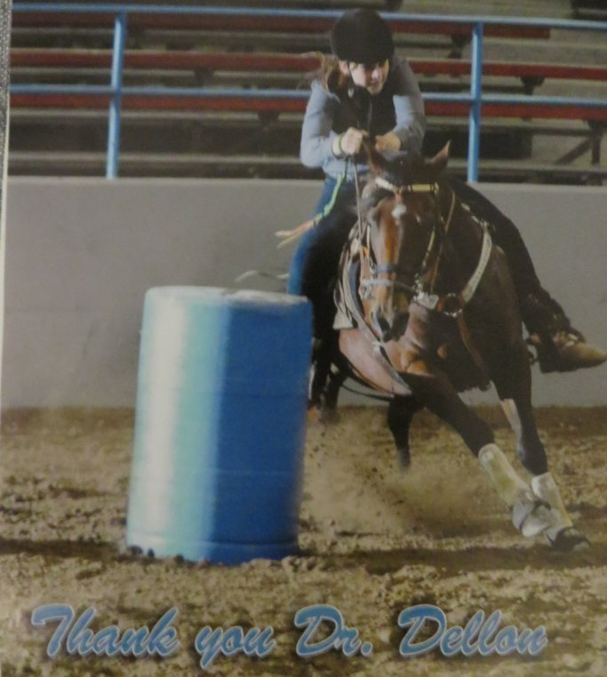 Barrel Racing 2 years POp Madison Waber