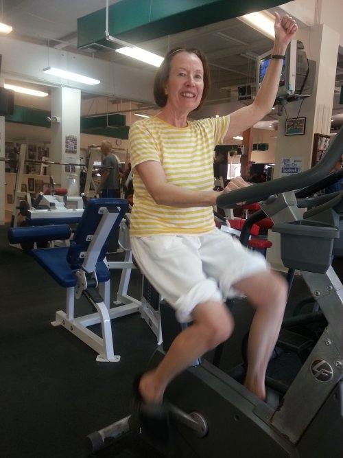 mary lou cooper exercise bike